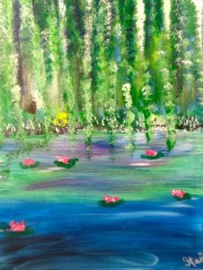 Have fun learning to paint at Wine & Canvas